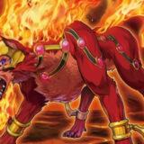 【遊戯王ラッシュデュエル】《魔獣ウォルフラム》の考察:デザインがカッコいい炎の魔獣