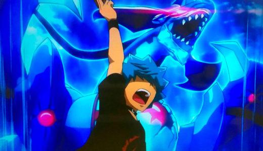 【遊戯王SEVENS】2話「悪魔を飼う男」の感想:ルークの魅力が全面放出!!
