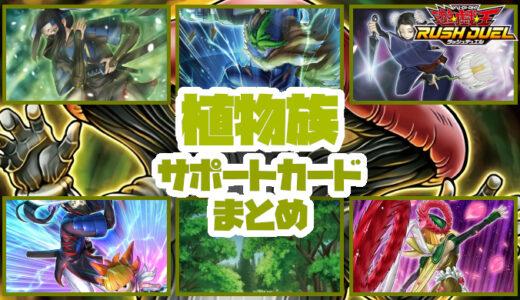 【植物族】サポートカードまとめ:植物族を展開! 強化! 再利用!【遊戯王ラッシュデュエル】